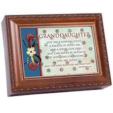 Shining Light Garden Cottage Garden Granddaughter Shining Light Woodgrain Rope Trim Jewelry Music Box Plays Jesus Loves Me