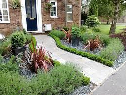 nice front garden path idea small