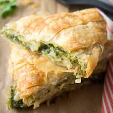 spanakopita the quintessential greek pie spinach leeks herbs and feta cheese wrapped in crunchy filo pastry scroll down for eng pie recipes