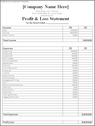 Real Estate Profit And Loss Template Rental Property Proforma Template Excel Printable Profit And Loss