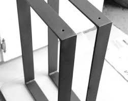 metal furniture legs modern. blacksmith made one pair of 2 metal furniture legs modern 5