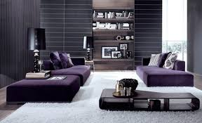 purple accent living rooms