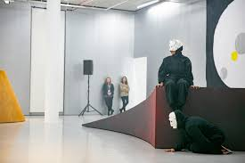 Head Geneva School Of Art Design Mai Thu Perrets Performance In Her Spike Island Exhibition