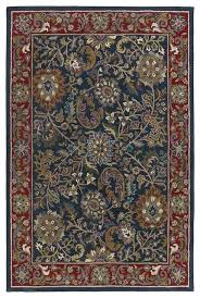 batroun ba165 navy red light blue sage area rug 5 x8 traditional area rugs by arearugs