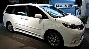 2018 toyota minivan. 2018 toyota sienna concept car minivan