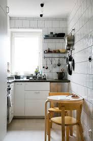 Scandinavian apartment Follow Gravity Home: Blog - Instagram - Pinterest -  Facebook - Shop  Tiny KitchensCompact LivingTiny ApartmentsKitchen ...