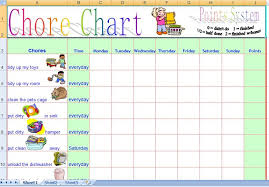 Printable Family Chore Chart Template Family Chore Chart Template Chore Chart Template Word Xors3d