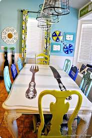 funky dining room furniture. Dining Table And Chairs Ideas Funky Painted Room Furniture V