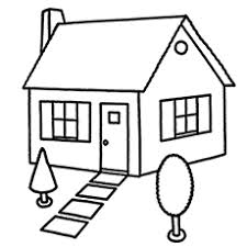 Top Free Printable House Coloring Pages Online 6995