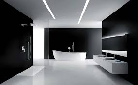 Black And White Bathroom Paint Ideas Photos Black And White Damask ...