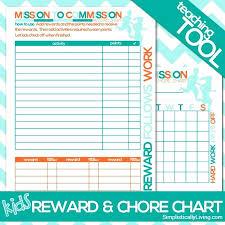 Responsibility Chart Walmart Responsibility Chart Chore List Free Template Printable My