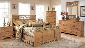 image of oak rustic king size bedroom sets