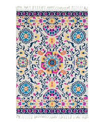love this product blue yellow medallion love rug
