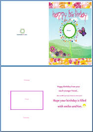 Birthday Cards Templates Word Print Your Own Birthday Card Greeting Card Outline Birthday Card