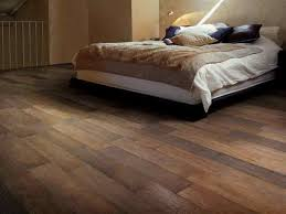 image of timber look tiles in bedroom