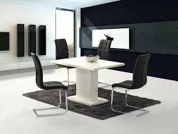 high gloss dining table set black gloss furniture set black gloss dining table white kitchen