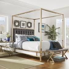 Gold Canopy Bed Frame Stylish Beds Frames EBay In 13 ...