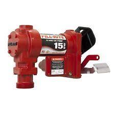 fill rite pump 12v fill rite fr1204g 12v dc pump 15 gpm pump only