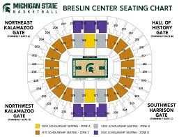 Iowa State Basketball Arena Seating Chart 46 Punctual Spartan Stadium Seating Chart Row Numbers