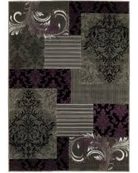 purple gray rug lyke home purple grey olefin machine made area rug 8 x 10 purple purple gray rug