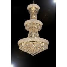 empire crystal chandelier 3 tier
