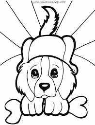 Puppy Coloring Pages Printable Printable Coloring Pages Of Dogs ...