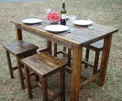 stanton piece dining table stanton black and gray wood pub table set  piece pub table used bar st