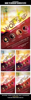 made to worship church flyer flyer template church and flyers made to worship church flyer template psd promote graphicriver
