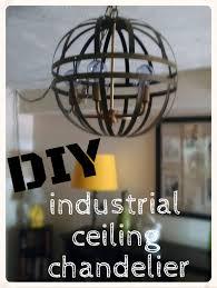 Attractive DIY Industrial Chandelier Interior Decor Images Angelina La Dawn  Tomato Diy Industrial Ceiling Chandelier