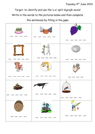 Check out our different sets of worksheets that help kids practice and learn phonics skills like beginning sounds, rhyming and more. Split Digraph A E Phonic Worksheet Presentation Teaching Resources