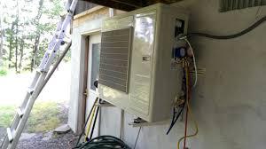 How To Install A Heat Pump Senville Aura Heat Pump Unboxinstallreview Youtube