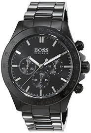 hugo boss mens quartz watch chronograph display and ceramic strap hugo boss mens quartz watch chronograph display and ceramic strap 1513197