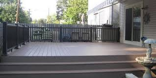 composite decking is a decking material that is composed of several diffe recycled materials though mainly hard plastic and wood