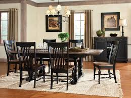 black distressed dining chairs implausible amazing of room table with decorating ideas 8