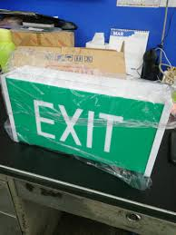 Samcom Self Contained Emergency Exit Light Electronics