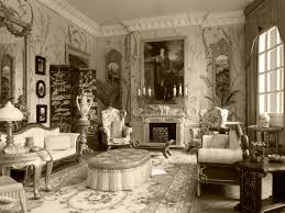 Living Room Victorian Home Interiors Elegant Enthralling Living