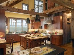 rustic kitchen island: preferential rustic kitchen island shapes furniture interiors