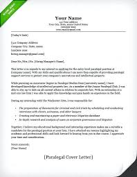 Law Office Cover Letter Sample Legal Assistant Resume Law Office