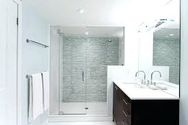 bathroom accent wall shower accent wall tiled accent wall bathroom contemporary with white mosaic tile glass