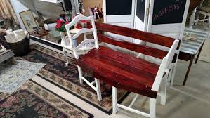 shabby chic patio furniture. pallet and old chairs patio bench shabby chic furniture