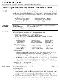 Best Resume For Software Engineer Resume Format For Experienced Software Engineer Sample