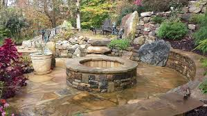 outdoor fireplaces fire pits cook centers