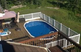 exquisite diy pool deck plans
