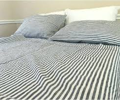 striped bed sheets slate gray and white striped linen sheets set striped sheets bed bath and striped bed