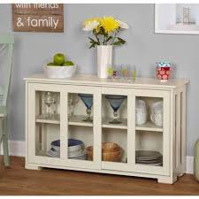 kitchen hutch cabinet buffet pantry sideboard stackable storage glass doors