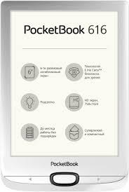 Отзывы: Электронная книга POCKETBOOK 616 Matte <b>Silver</b> в ...