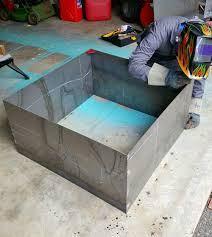 modern diy welded fire pit (our fire pit makeover)  dans le lakehouse