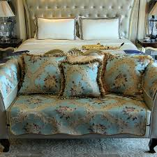 top furniture covers sofas. Blue Top Quality Fabric Sofa Covers Slipcovers Vintage Floral European Style Four Seasons Fashion Couch Furniture Sofas M