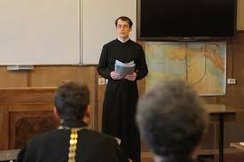 На апрельском заседании кафедры обсуждался проект Образовательной  Предзащита магистерских диссертаций