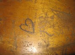 wooden school desk top. Brilliant Wooden Old Wooden School Desk With Carvings On Desktop Great For Storing Art  Supplies Journals Or Books Inside Lots Of Character From New Orleans Intended Wooden School Desk Top N